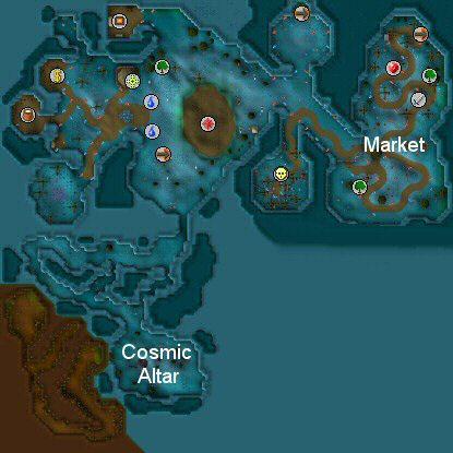 ScapeRune Zanaris Map on
